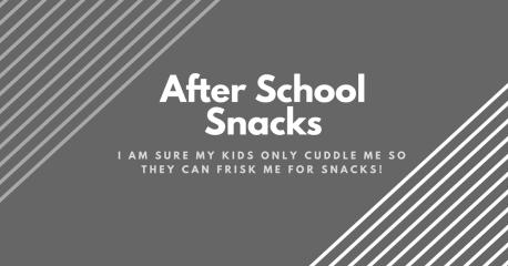kids friendly snack ideas