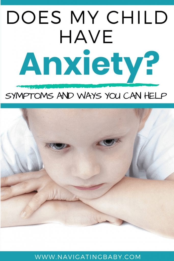 Child Anxiety Symptoms