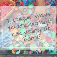 7 ways to encourage recycling at home