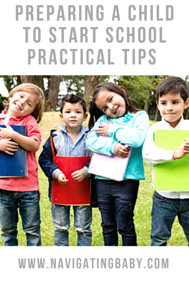 prepare s child to start school top tips