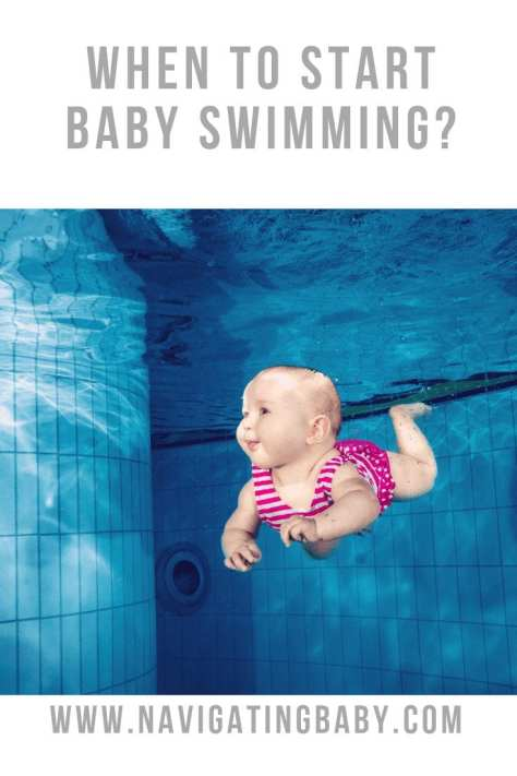 when can you start baby swimming?
