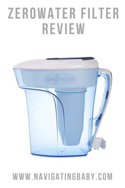zerowater filter review - filter jug