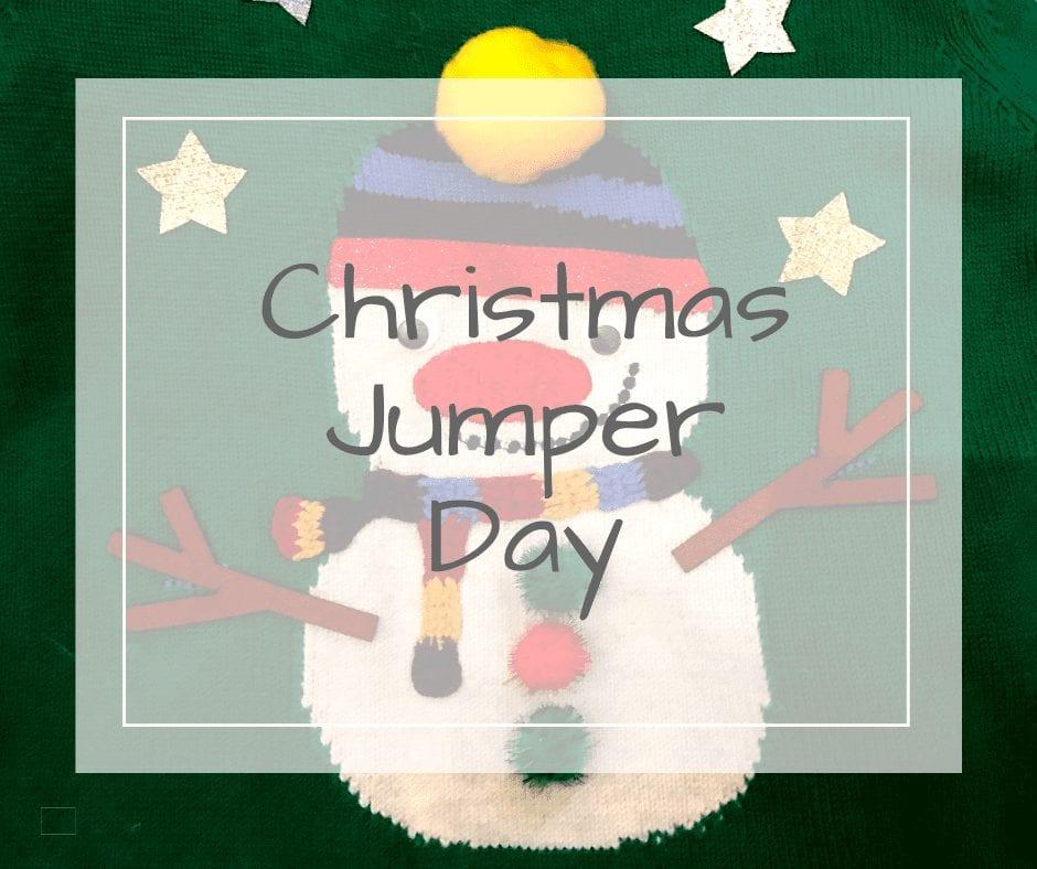 Christmas Jumper Day Snowman jumper