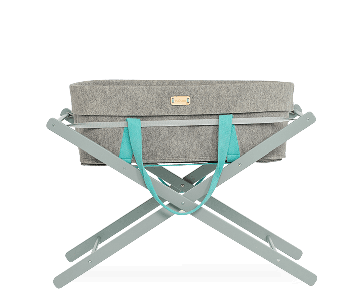 Mokee Wool Nest Moses Basket