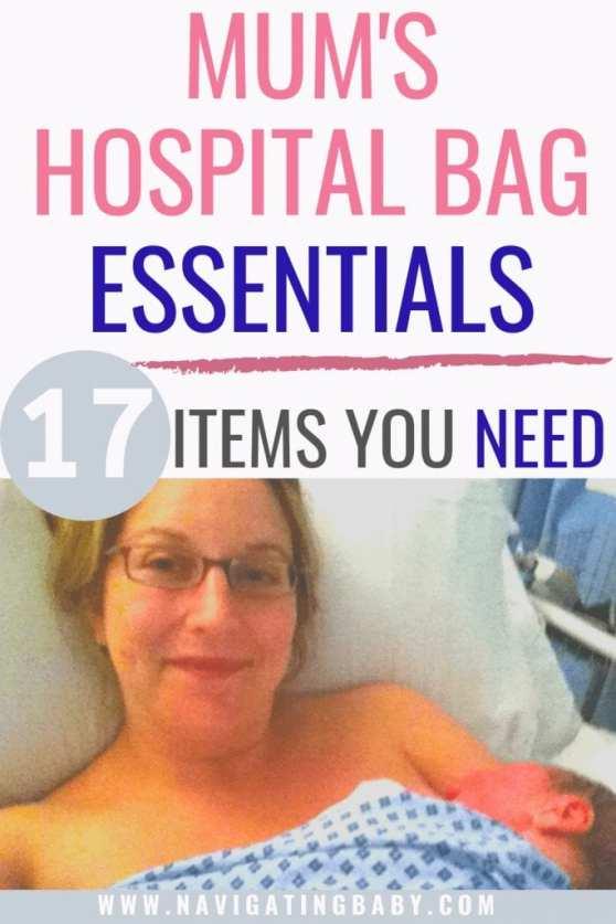17 mum's hospital bag essentials
