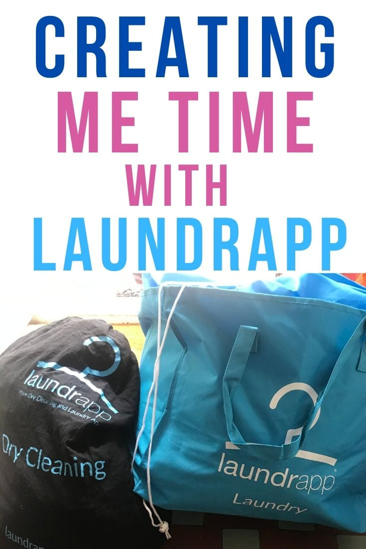 creating me time with laundrapp