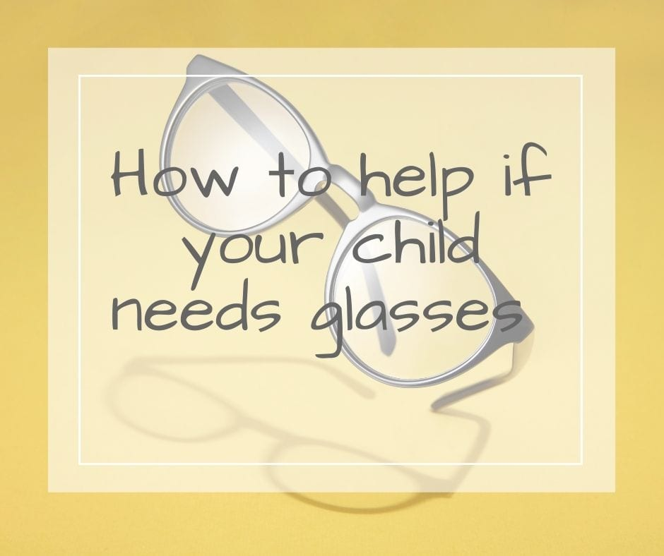 child needs glasses
