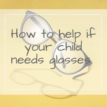 child needs glasses