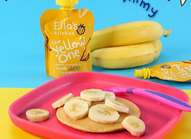 Pancakes for Toddlers Tropical Pancake