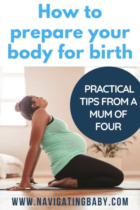 prepare for birth exercise