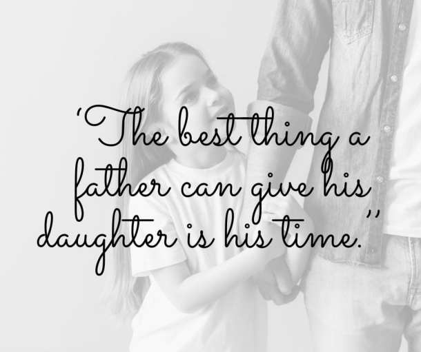 father daughter quote inspirational