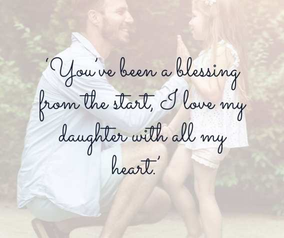 father daughter blessing quote