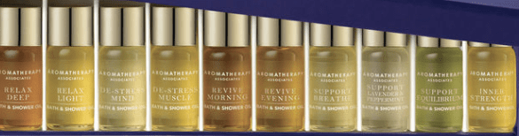 Space NK bath oils - how to use sensual overexcitability