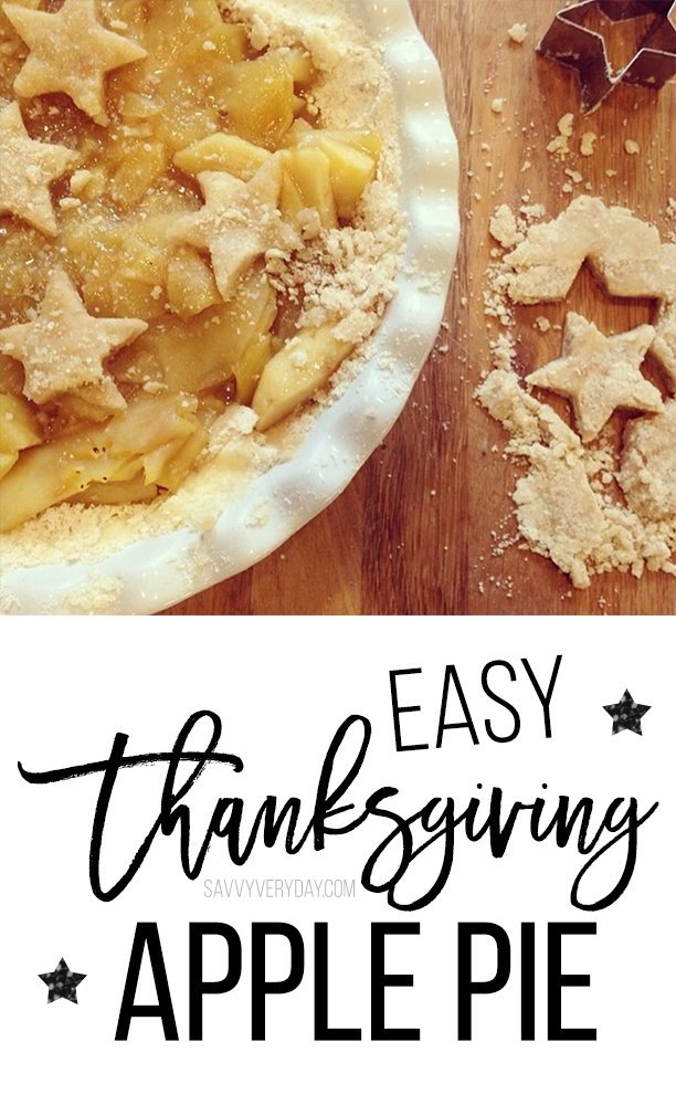 easy thanksgiving apple pie