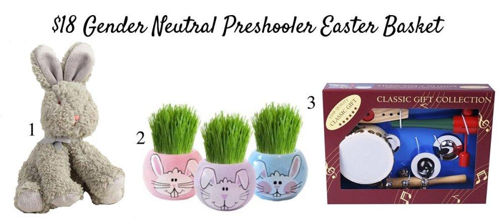 $18Preschooler Easter Basket