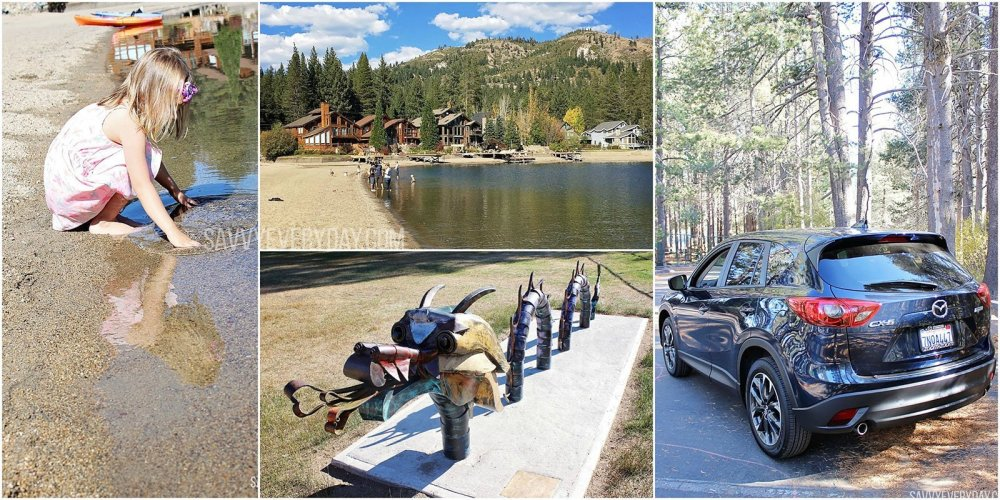 Collage of pictures from Donner Lake