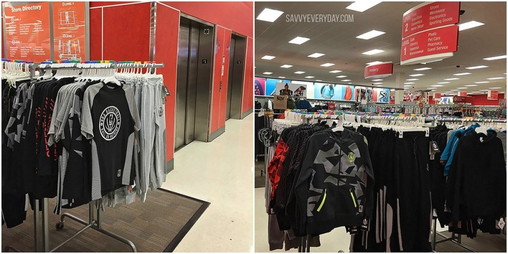 Collage showing where to find the new NBA Reflective Collection at Target for gift giving