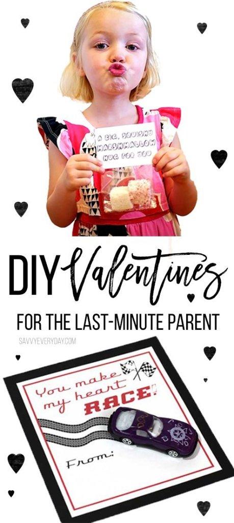 DIY Valentines For the Last Minute Parent