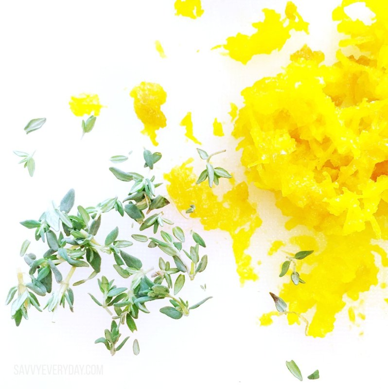 Golden beet and thyme