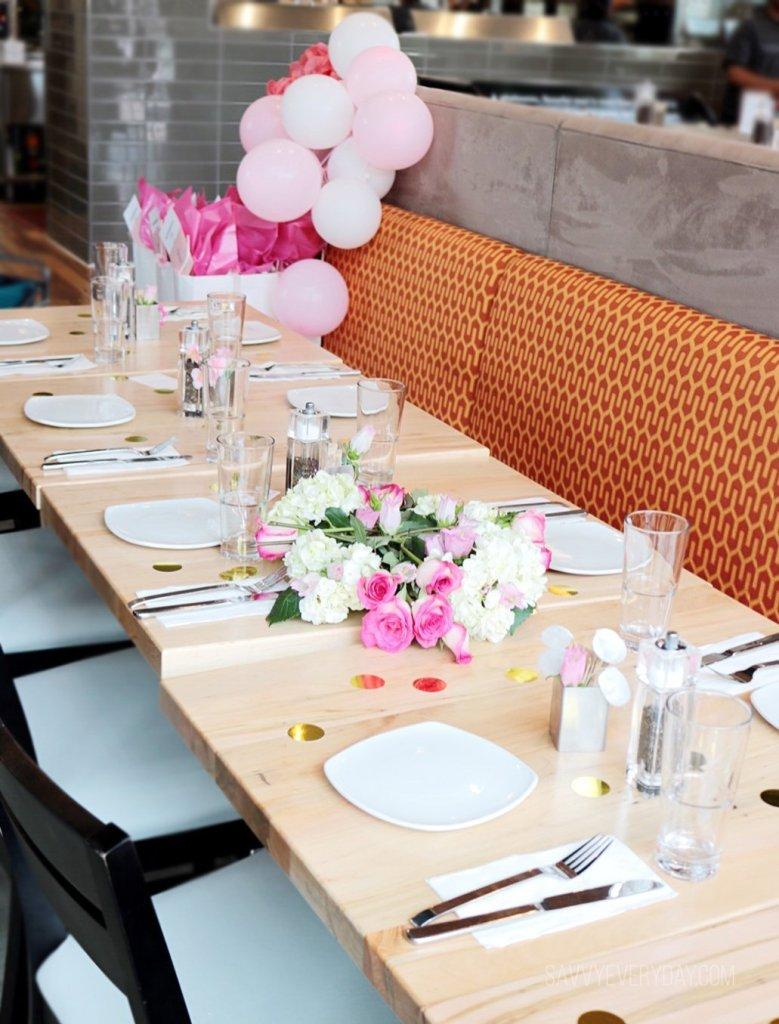 super bright table