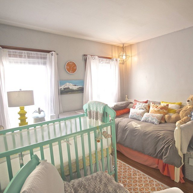 Liz Dean shared nursery room