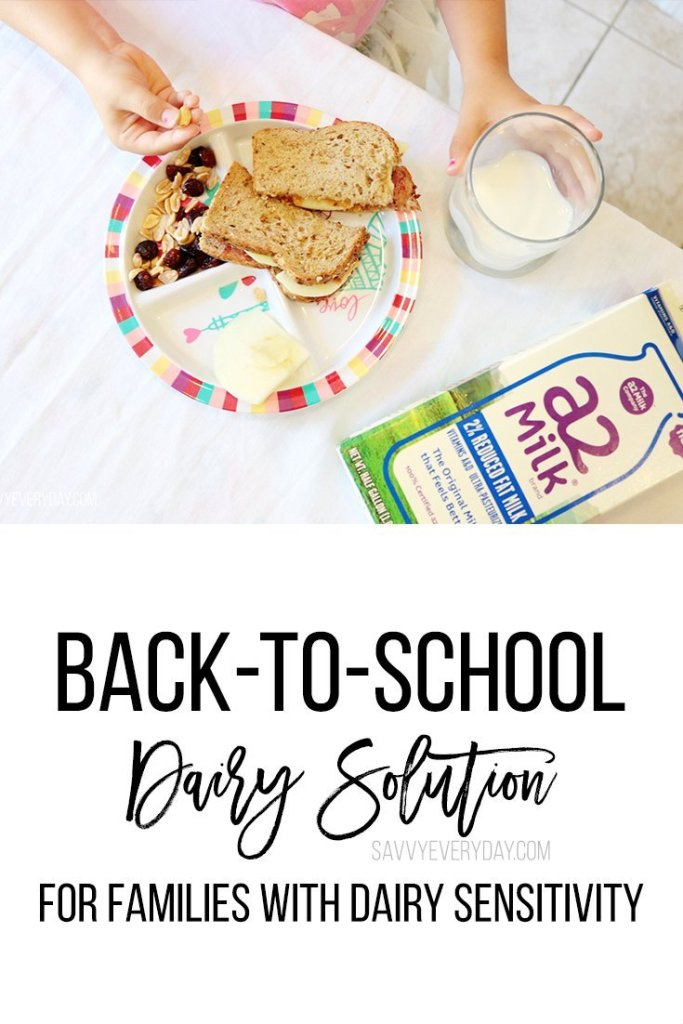 back to school solution for families with dairy sensitivity