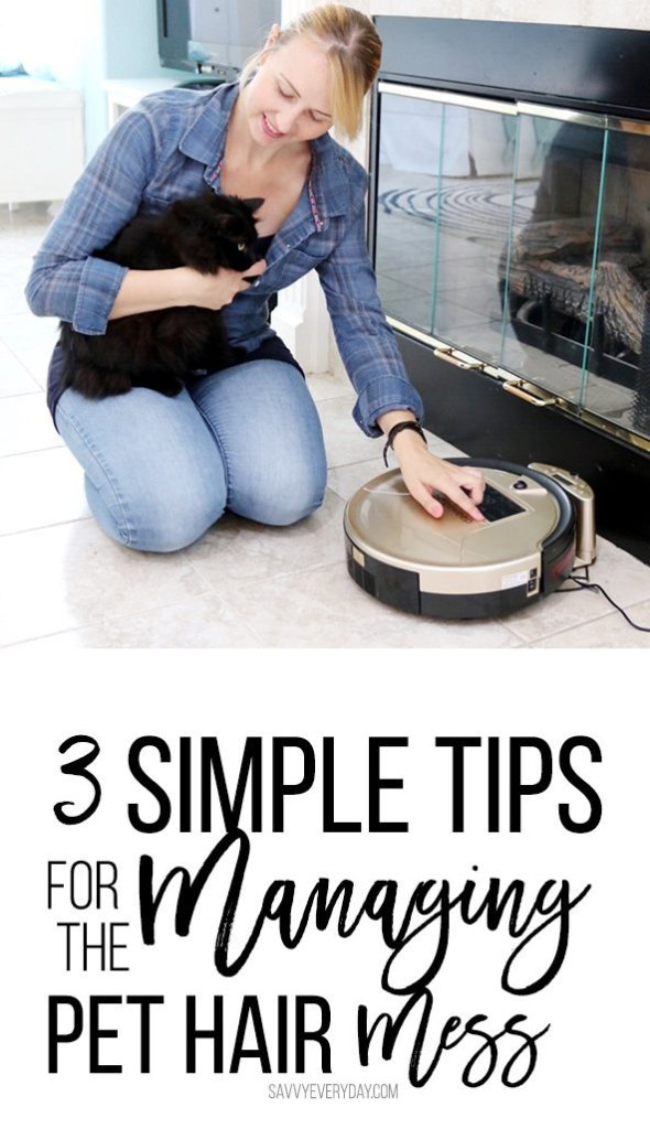 3 simple tips for tackling the pet hair mess