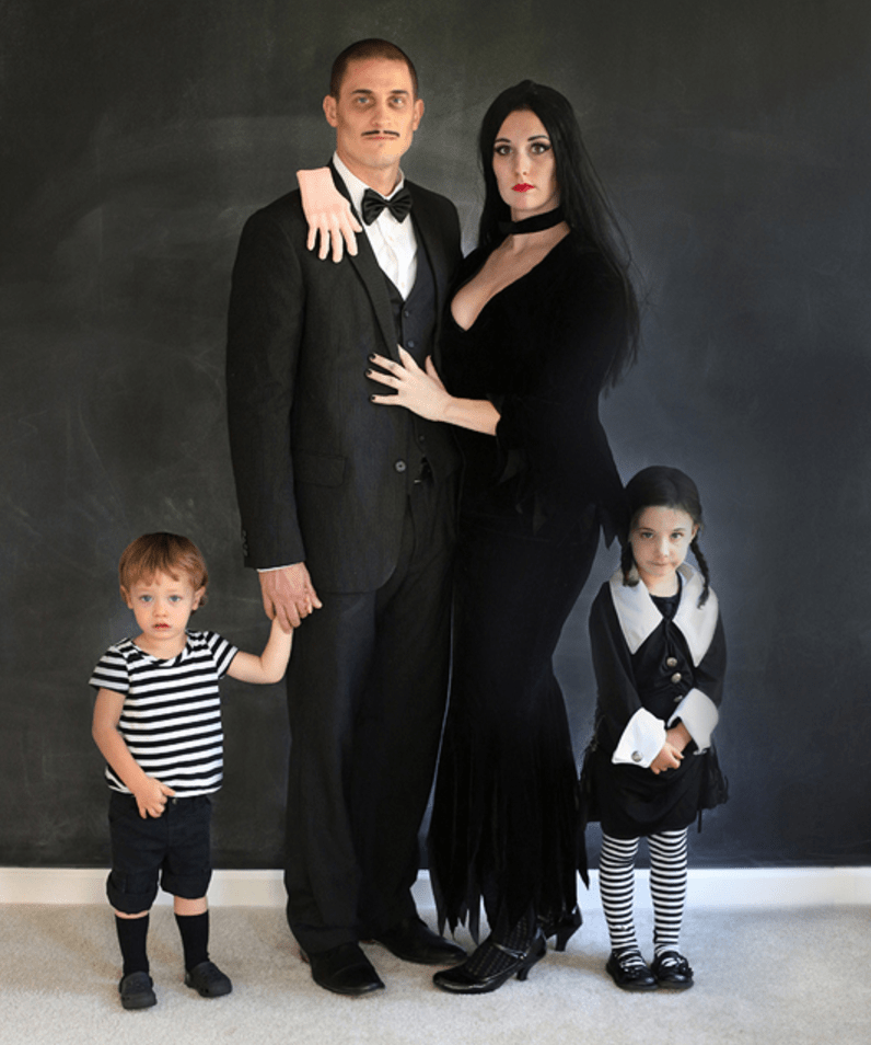 The Addams Family costumes  sc 1 st  Navigating Parenthood & Over 11 Clever Pregnancy Costumes - Navigating ParenthoodNavigating ...