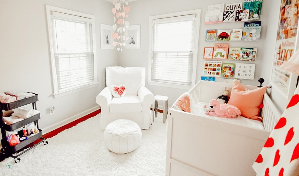 Alice in Wonderland inspired nursery