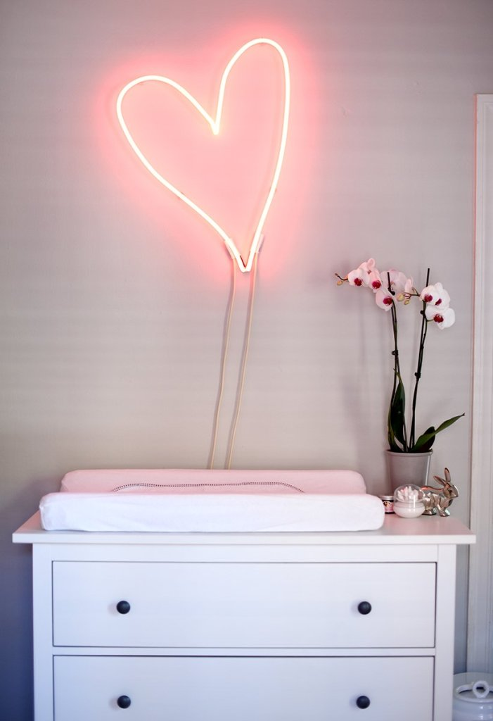 custom heart light