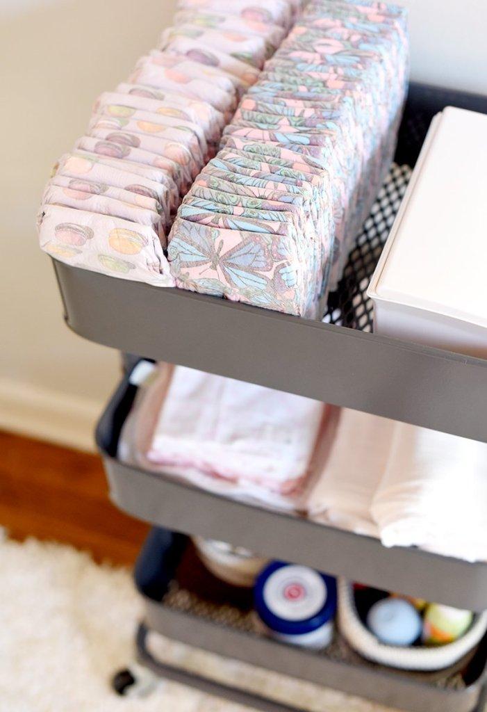 diaper cart