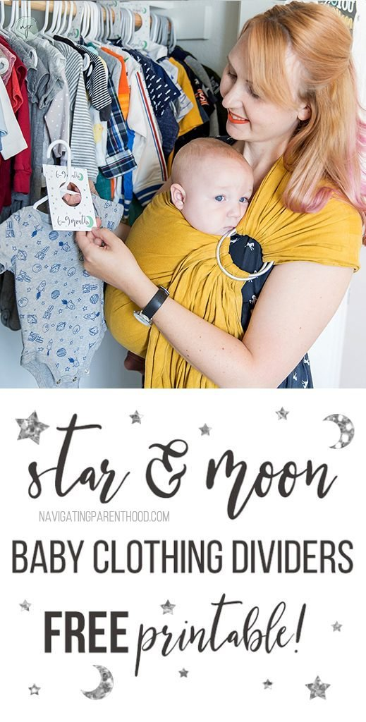 star and moon clothing divicers