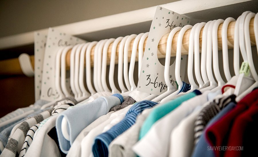 close up of baby clothes