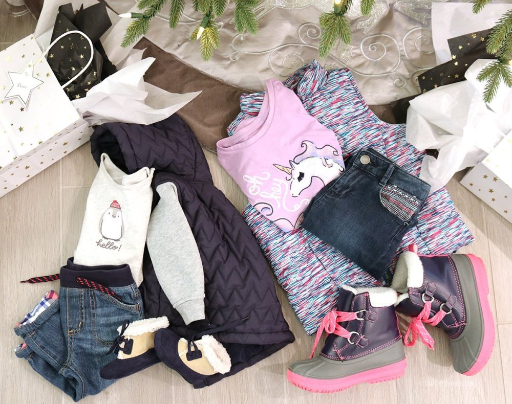 kids winter clothes from Gymboree