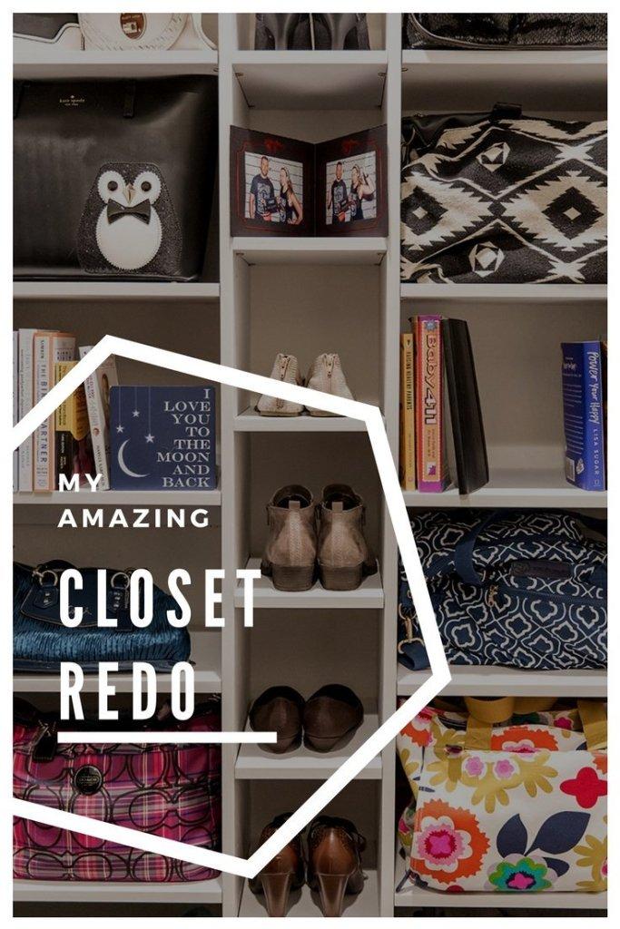My Amazing Closet Redo