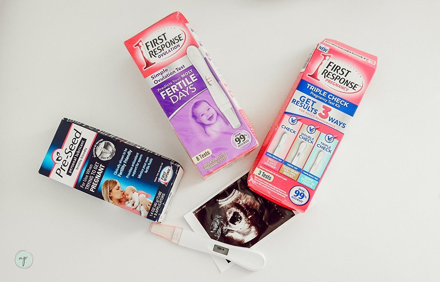 TTC First Response products for trying to conceive