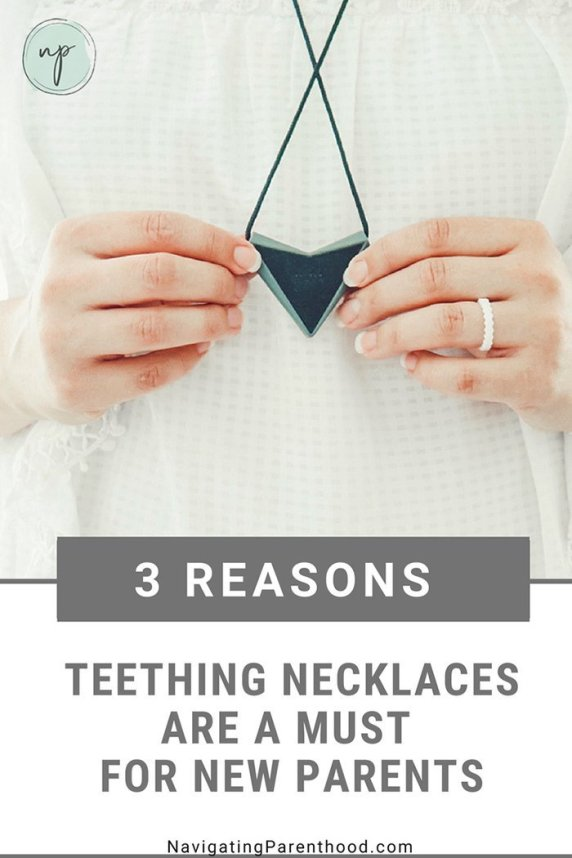 3 Reasons Teething Necklaces are a Must for New Parents