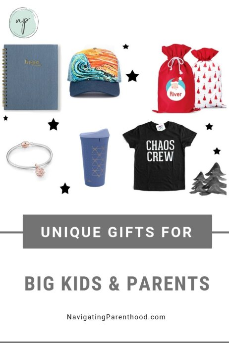 Unique gifts for big kids and parents