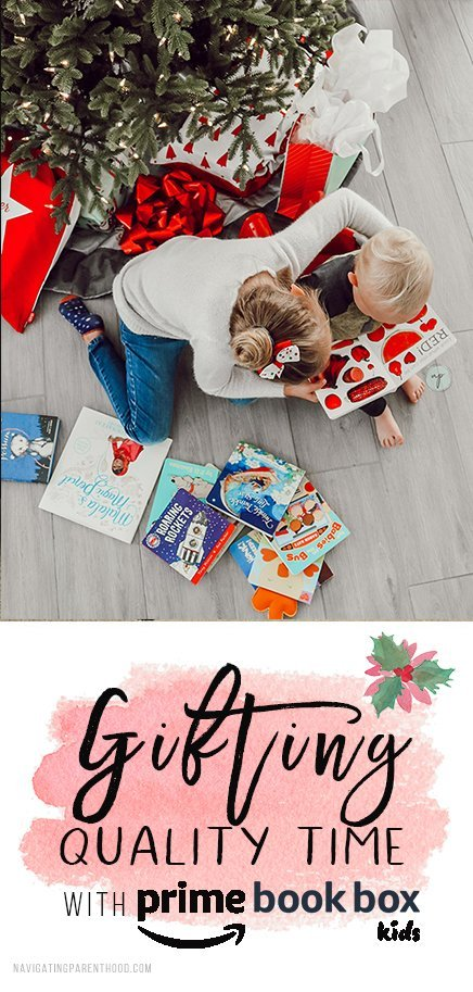 This post was sponsored by @Amazon. This year we're gifting family via Prime Book Box. Check it out! #DeliveringSmiles #PrimeBookBox #ad