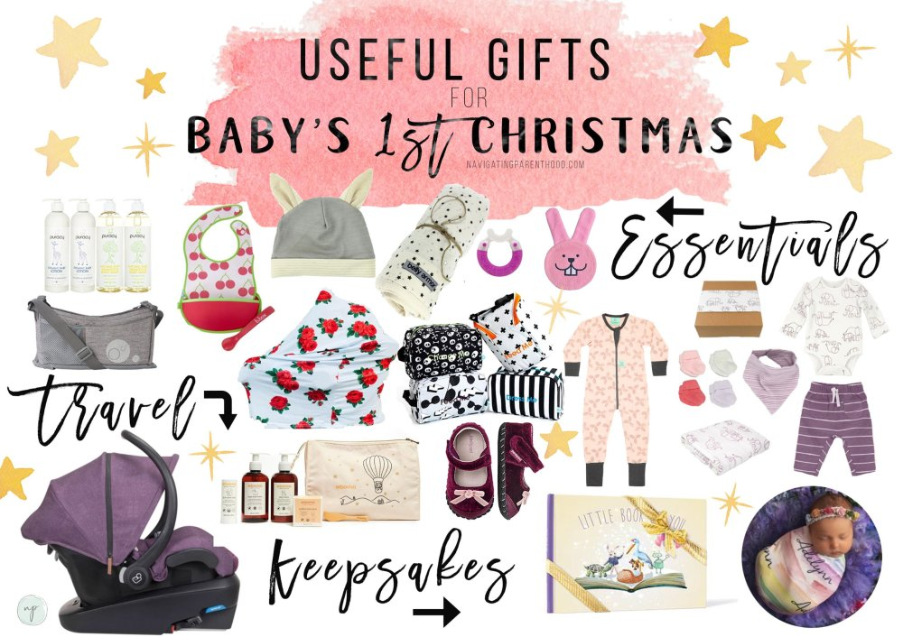 Useful Gifts for Baby's 1st Christmas Gifts