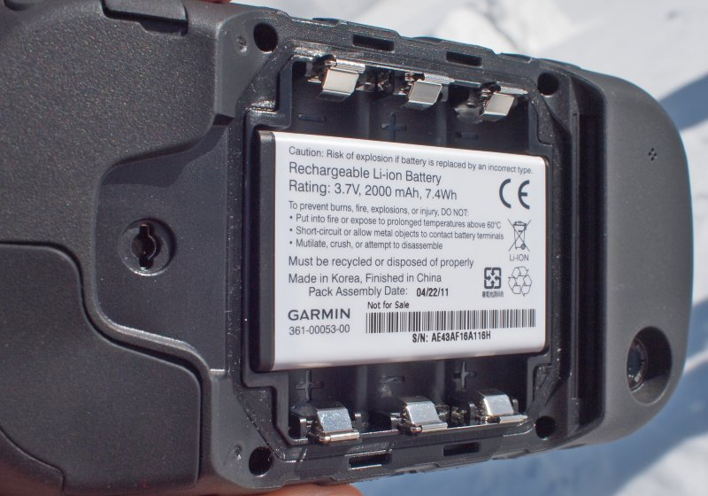 Garmin Montana Rechargable Li-Ion Battery