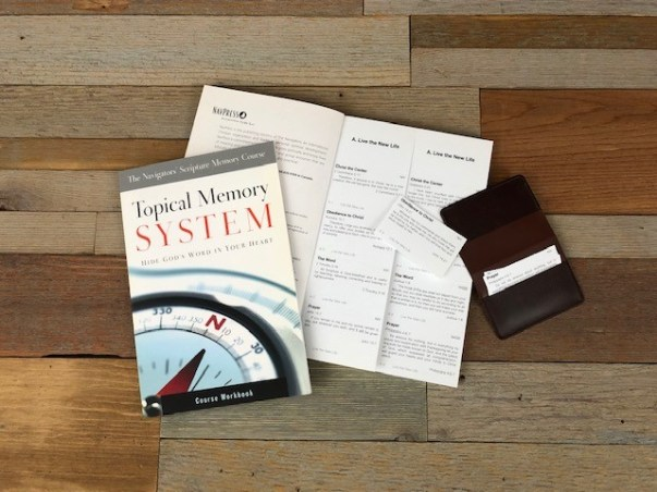 Topical Memory System Giveaway | The Navigators