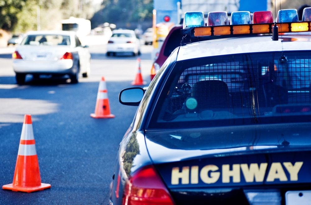 Crash and Christ | Navigators Responders | Parked police car on the side of the road