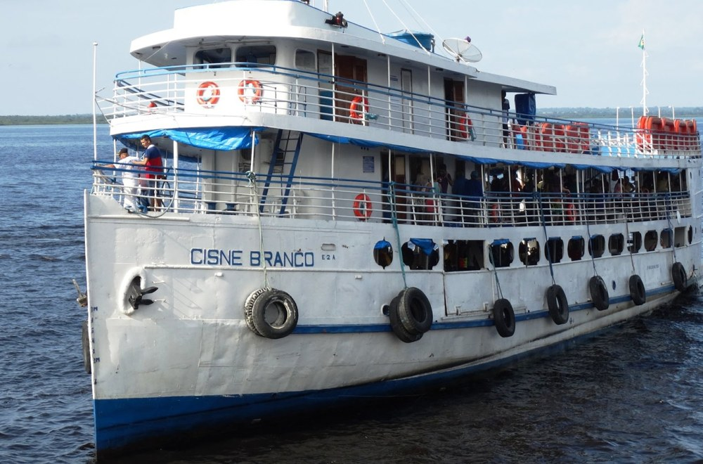 The Gospel on the Amazon River | The Navigators International Missions | Boat on the Amazon River