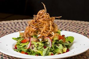 Salad fried onion