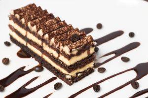 Tirsamisu cake coffee dessert