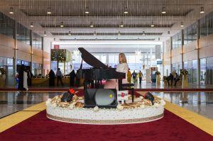 Pianist exhibition
