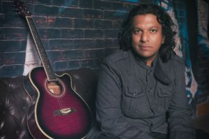 Musician rock artist portrait