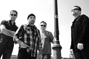 U2 tribute band musicians