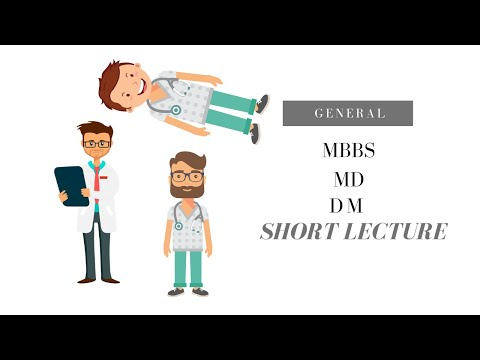 MBBS, MD, DM – Medical degrees explained clearly